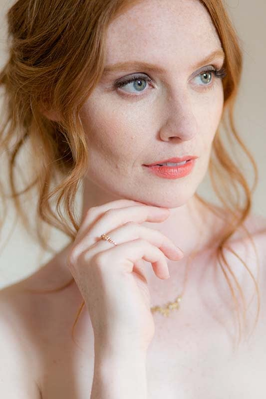Bridal Makeup for red head