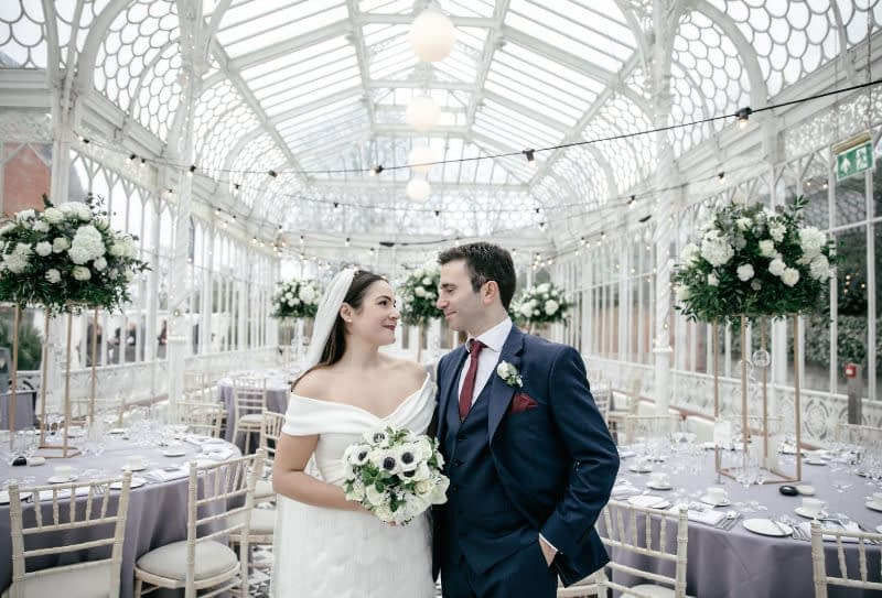 Horniman-museum - wedding - glasshouse - wedding venue