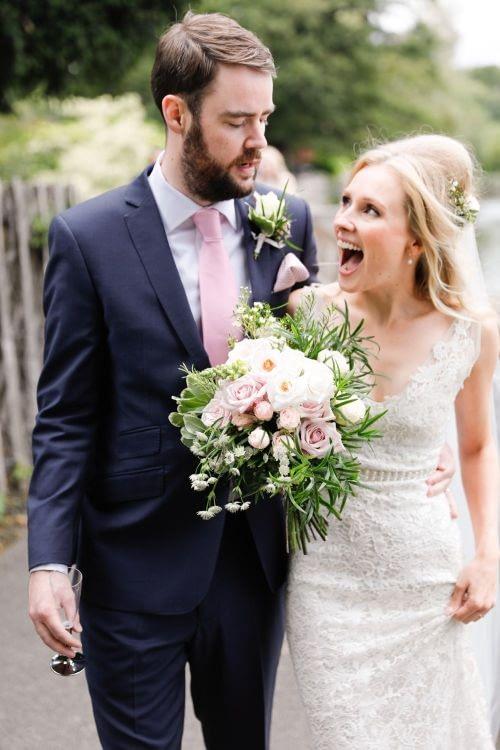 Kew gardens wedding modern bridal makeup natural makeup for blond hair