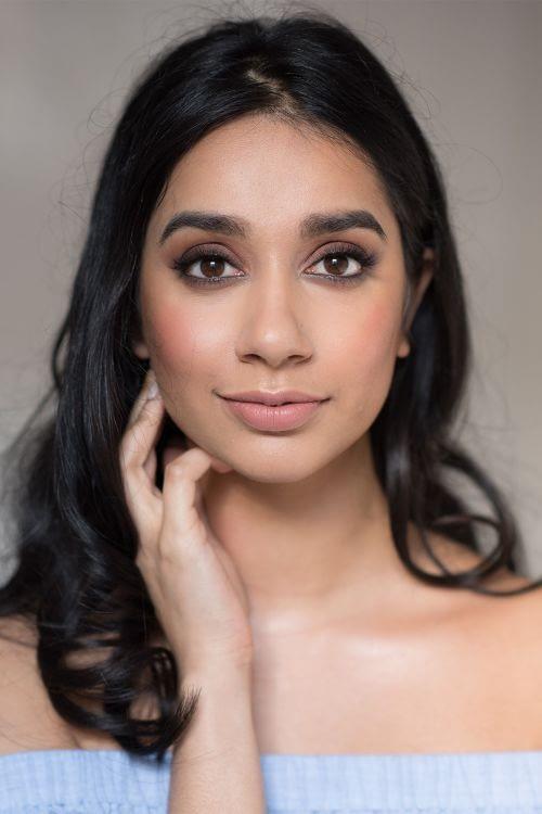 Modern bridal makeup for Indian bride