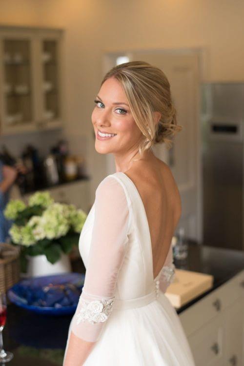 chic bride natural bridal makeup for blond hair